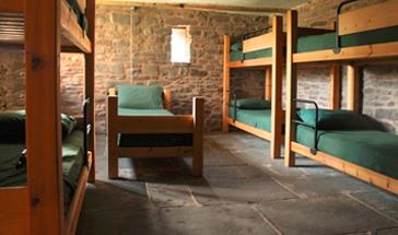 Bunkhouse accommodation in Llanthony
